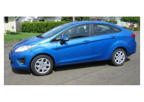 2013 FORD FIESTA 4 DOOR 5 PASSENGER FOR SALE