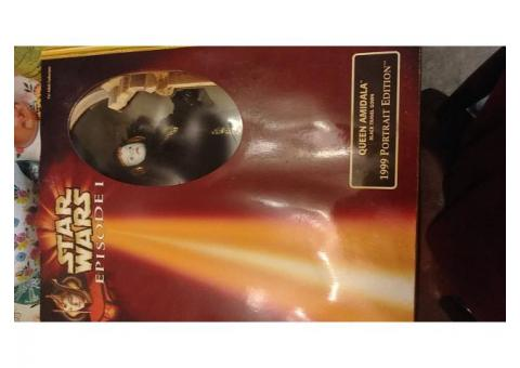 COLLECTIBLE: Authentic Star Wars: Episode 1,  Queen Amidala, 1999 Portrait Edition