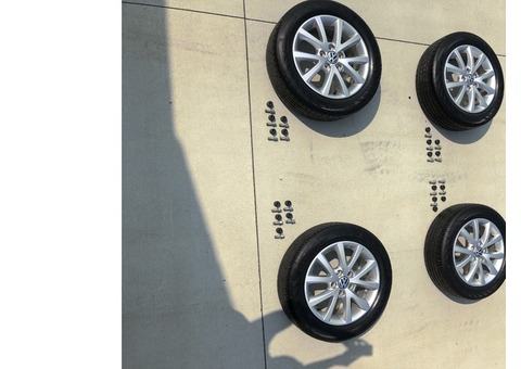 Set of 4 - 16 inch VW 2014 Jetta wheels and tires